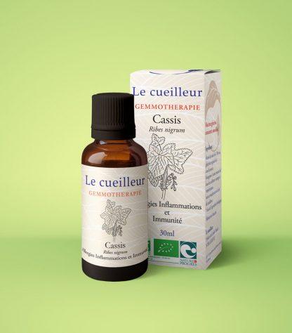 Le cueilleur - Gemmothérapie de Cassis-macerat glycériné de bourgeons-le cueilleur